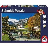 Schmidt Spiele Puzzle per Adulto: Ramsau, Alta Baviera, 1000 pezzi