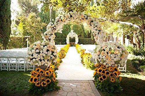 StarLifey Garden Helianthus Girasoles Artificiales 5 Cabezas para la Cocina casera Bride Holding Flowers Floral Decor…