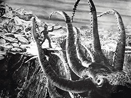 Artland Qualitätsbilder I Wandbilder Selbstklebende Premium Wandfolie 80 x 60 cm Film TV Film Foto Schwarz Weiß C4RG Die Erfindung des Verderbens 1958 -