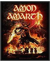 Amon Amarth Surtur Rising Aufnäher | 2658