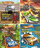 Nelson Mini-Bücher: 4er Hot Wheels 1-4