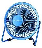 Orbegozo PW 1020 - Mini ventilador USB de sobremesa, diámetro de las aspas 10 cm, práctico y silencioso, color azul
