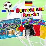 Rainbow Loom® EM Fussball-Reise-Set Deutschland für EM Fan-Armbänder
