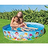 Childrens Kids Toddler Snapset Rigid Swimming Paddling Garden Play Pool