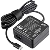 KFD 65W Type C Cargador USB Tipo C USB C Adaptador para HP Spectre X360 13-ae000ns, Lenovo Yoga 920-13IKB 720-13 730-13 910-1