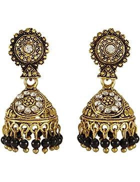Banithani Neuer Indischer Traditioneller Goldtone Cz Jhumka Ohrring Gesetzte Frauen Hochzeits Schmuck