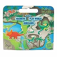 Dinosaur Activity,Magnetic Playworld Set for Boys and Girls. Dinosaur Magnetic Book Activity Set for Boys and Girls. Great Travel Activity Packs for Kids. Great Gifts for Boys and Girls 3 years old