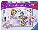 Sofia la Principessa - Puzzle 2 x 24 PezziI puzzle Ravensburger sono un perfetto modo per rilassarsi dopo una lunga giornata o per divertirsi in famiglia in un giorno di pioggia.Dimensione Puzzle: 26 x 18 cmDimensione Scatola: 28 x 19 x 4 cm ...