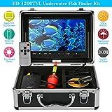 KKmoon HD Kit de Cámara Submarina de Buscador de pescados con 9