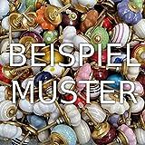 Überraschungspaket! - 12 Stück - B:M - Möbelknopf Möbelknöpfe Möbelgriff Shabby Chic Vintage Retro Keramik Porzellan - wahllose Mischung