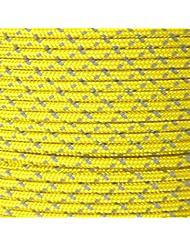 GM CLIMBING 100ft 225KG 3mm Cordelette Accessoire Réfléchissant Double Tressage Haute Visibilité