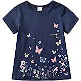 VIKITA Manga Larga Algodón Camisetas T-Shirt Niñas 1-6 años