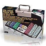 SPINMASTER 6033157Poker-Set in Aluminium Fall (300)