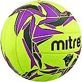 Mitre Cyclone Indoor Football - Yellow/Black/Purple, Size 4
