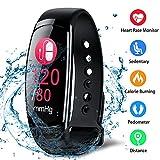 Fitness Trackers Fitness Armband mit Pulsmesser Wasserdicht Farbbildschirm Aktivitätstracker Kalorienzähler