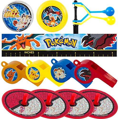 Anniversaire Pokémon Enfant Garçon Lot de Surprises pour Pochettes Surprises 0013051757236