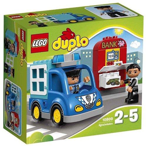 LEGO - Patrulla de policía, multicolor (10809)