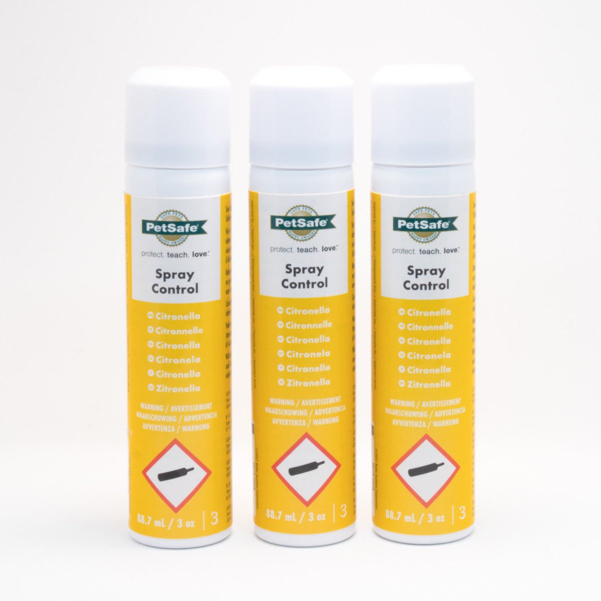 PetSafe 3 Tins Anti Bark Dog Spray Collar Citronella Refill (Sorry Available to UK Addresses Only)