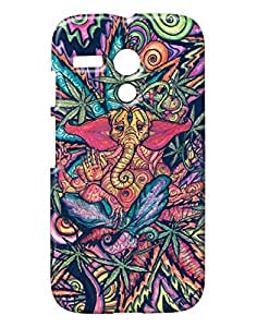 Pickpattern Back cover for Motorola Moto G 1st Gen X1032