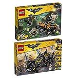 The Lego Batman Movie 2er Set 70914 70917 Der Gifttruck von Bane + Das ultimative Batmobil