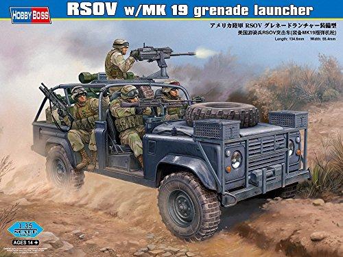 Hobby Boss 82449 Modellbausatz RSOV w/MK 19 grenade launcher