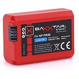 Baxxtar Pro - Remplacement de la batterie Sony NP-FW50 (1080mAh) - système de batterie intelligente (Infochip)