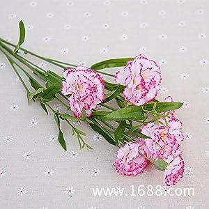 Chytaii Artificial Flores Falsas Decoración del Hogar Ramo de Flores Artificiales Día del Maestro Día de la Madre Boda…