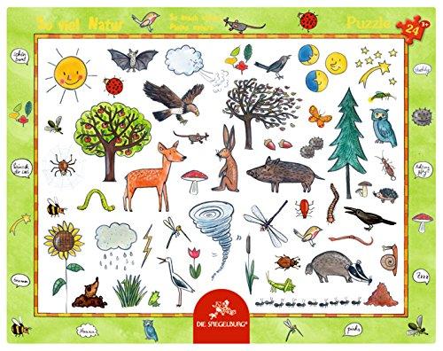 Preisvergleich Produktbild Rahmenpuzzle - So viel Natur (24 Teile)