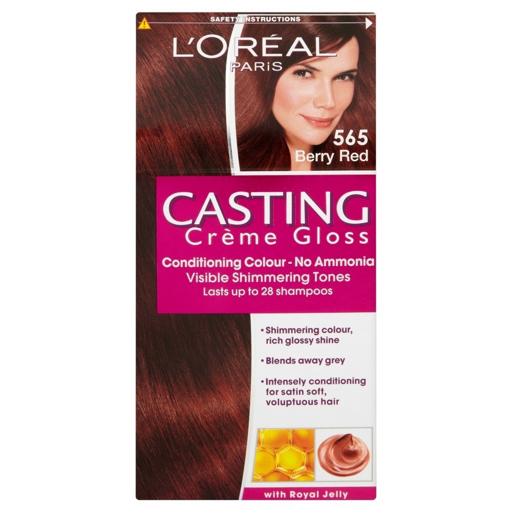 L'Oreal Paris Casting Creme Gloss Hair Colourant 565 Berry Red ...