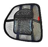 !NEU! LORDOSENSTÜTZE mit einstellbarer Krümmung Rückenstütze Rückenkissen für Autositz oder Bürostuhl