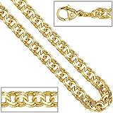 Dreambase Damen-Halskette Länge ca. 45 cm 14 Karat (585) Gelbgold 5.2 mm Karabinerverschluss