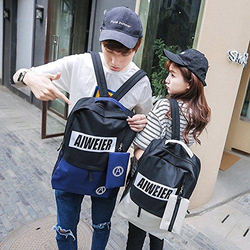 Hualing M¨¨re et Enfant Couple Sac ¨¤ bandouli¨¨re Casual Seal Student Simple Bag ¨¦cole de la main - Travel College Wind Backpack Rouge rouge