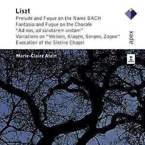 Liszt : Grandes œuvres pour orgue