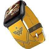 DC Comics - Wonder Woman 1984: Golden Armor Edition - Cinturino in silicone con licenza ufficiale compatibile con Apple Watch