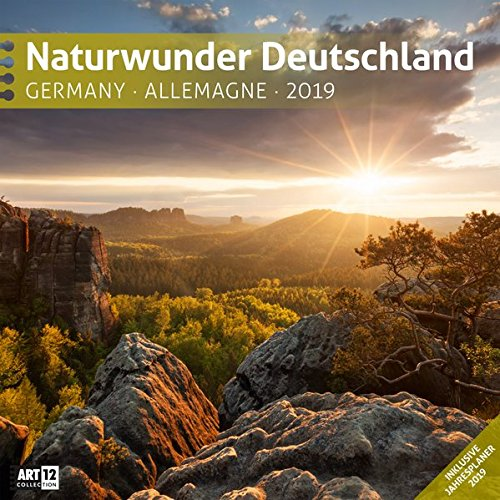 Naturwunder Deutschland 2019 Broschürenkalender por Ackermann Kunstverlag