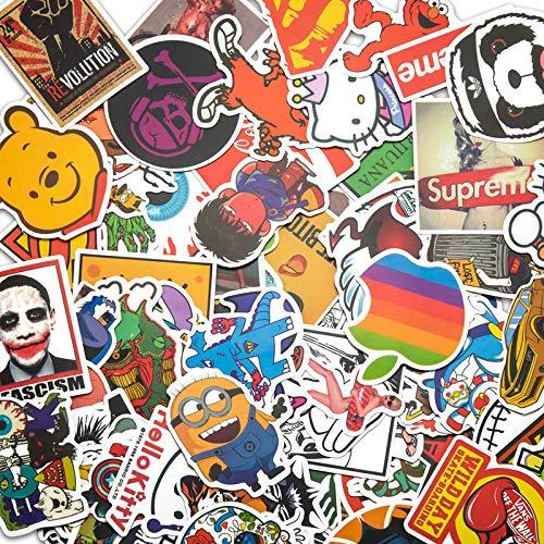 Sticker Pack [420 Pcs] Graffiti Stickers Decals Vinyls for Laptop, Children, Car, Motorcycle, Bicycle Hippie Luggage Skateboard Laptop Car Bumper Sticker