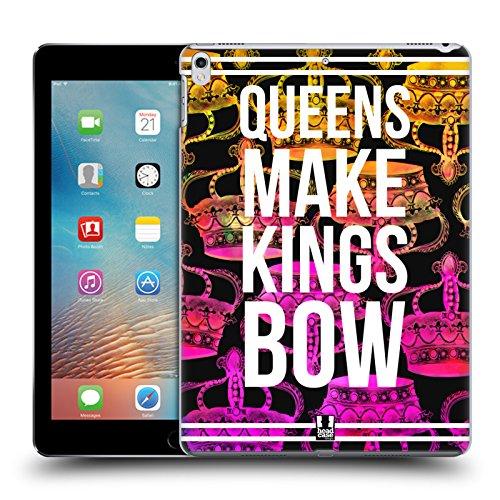 (Head Case Designs Kings Bow Down Krone Rebell Ruckseite Hülle für Apple iPad Pro 2 10.5 (2017))