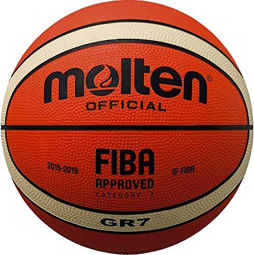 Molten Basketball BGM7, Orange/Creme, Größe 7
