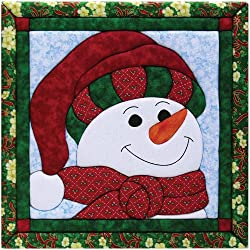 Quilt Magic 12 X 12-inch Snowman Kit