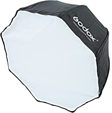 "Godox SB-UBW 80cm / 32"" Umbrella Octagon Softbox Reflector with Carrying Bag (Black)"