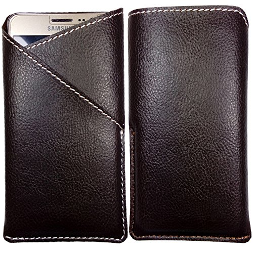 Micromax Bolt A068 - Pu Leather Mobile Pouch Cover (Be Unique Buy Unique ) Buy It Now By Senzoni  available at amazon for Rs.249