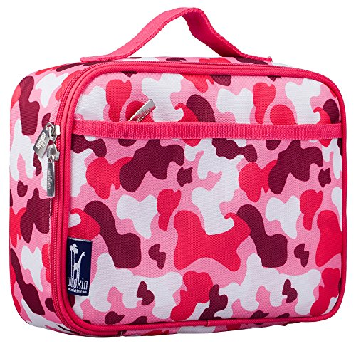 Lunch-box Isolierte Camo (Wildkin Lunch Box, Pink Camo by Wildkin)