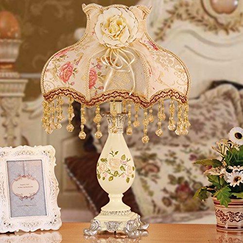 Europäische Lampe Nachttischlampe Prinzessin garten ideen Hochzeit Dekoration Schlafzimmer Luxus Lampe, 320*480mm