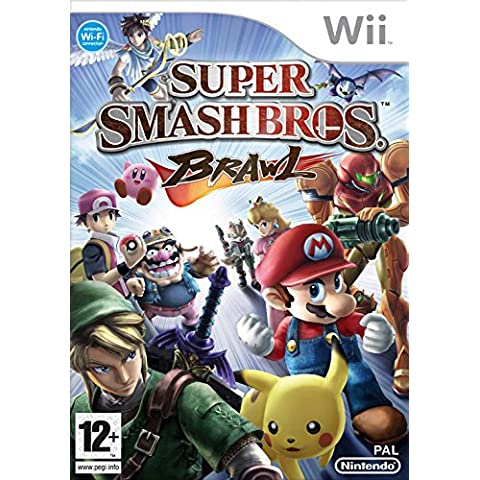 Nintendo Super Smash Bros. Brawl, Wii - Juego (Wii, Nintendo Wii, Lucha, T (Teen))