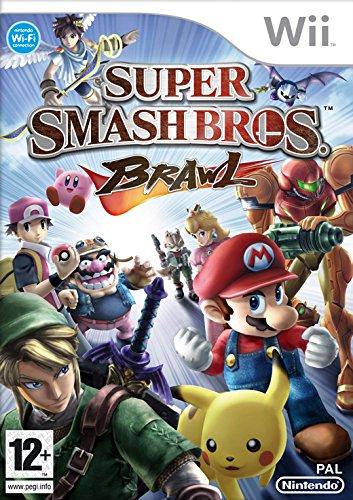 Wii Super Smash Bros Brawl Select (PEGI) (Wii Bros Smash Super Brawl)