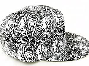 Jaune damier fULL bLACK wHITE nY casquette tailles différentes-taille l