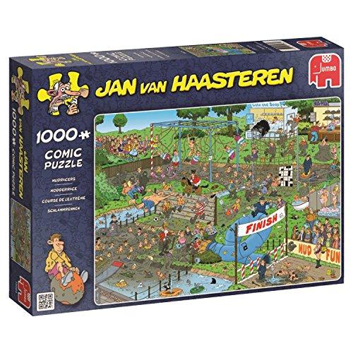 Jumbo - Puzzle Mudracers, 1000 Piezas (619064)