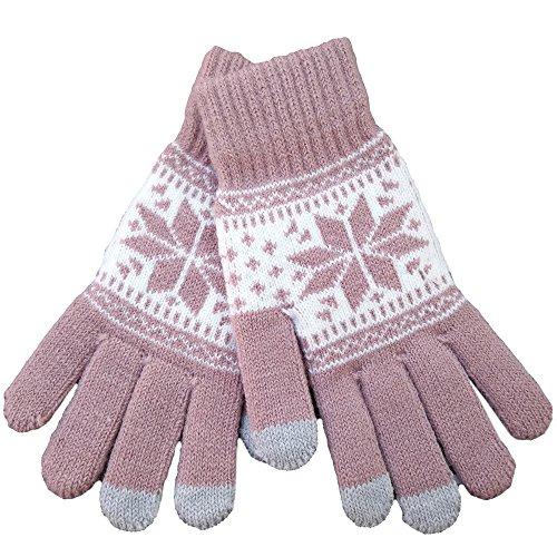 iEverest Sown Unisex Touchscreen Handschuhe Lover Handschuhe dicke Handschuhe Smartphone Touchscreen Handschuhe für das Fahren und Telefonieren für alle touchsensitiven Display (Khaki)
