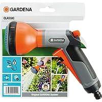 Gardena Classic Multibrause: Gartenbrause zur Bewässerung von Topfpflanzen und Beeten, 3 Wasserstrahlformen, Frostschutz…