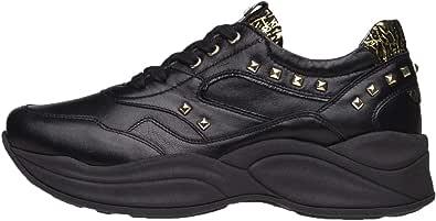 Nero Giardini A909073D Sneakers Donna in Pelle E Vernice